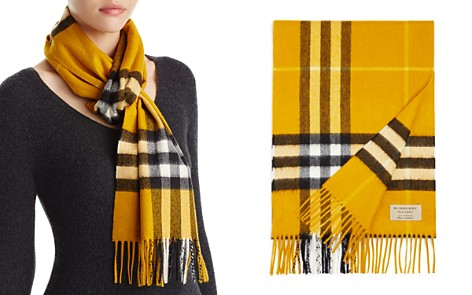 Burberry Giant Check Cashmere Scarf - Bloomingdale's_2