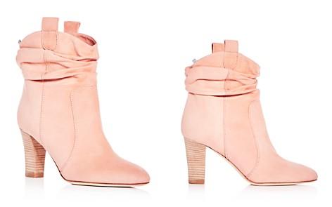 SJP by Sarah Jessica Parker Women's Sloan Suede High-Heel Booties - 100% Exclusive - Bloomingdale's_2