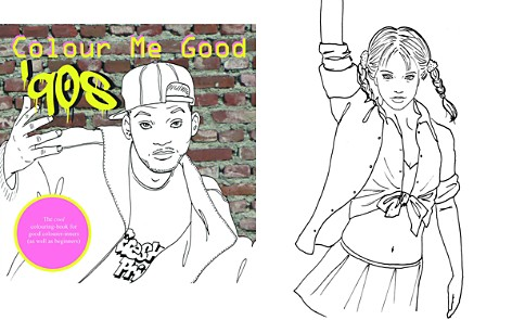 I Love Mel Colour Me Good '90s Coloring Book - Bloomingdale's_2