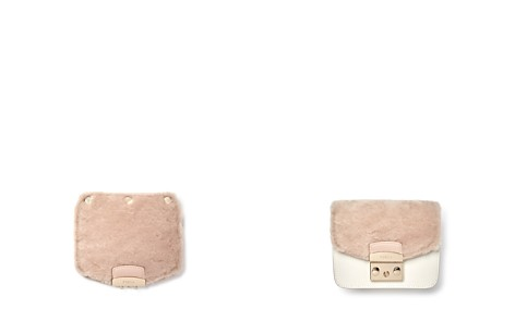Furla MY PLAY Interchangeable Metropolis Mini Shearling Flap - Bloomingdale's_2
