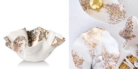 Vietri Scattered Gold Matte Medium Bowl - Bloomingdale's Registry_2