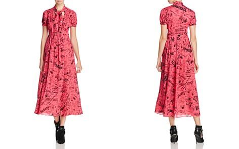 Burberry Antonina Printed Midi Dress - Bloomingdale's_2