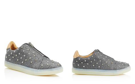 Pairs in Paris Women's Tuilerie Studded Wool Sneakers - 100% Exclusive - Bloomingdale's_2