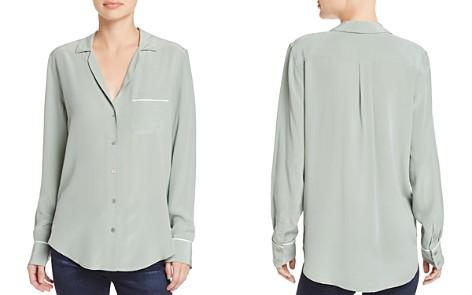Equipment Keira Pajama Silk Shirt - Bloomingdale's_2