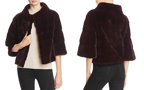 Maximilian Furs Plucked Saga Mink Fur Jacket - 100% Exclusive - Bloomingdale's_2