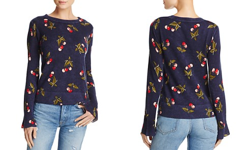 Joie Varden Cherry-Print Cashmere Sweater - Bloomingdale's_2