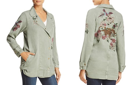 Billy T Embroidered Moto Jacket - Bloomingdale's_2
