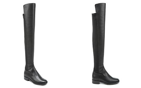 Via Spiga Women's Varun Leather & Stretch Over-the-Knee Boots - Bloomingdale's_2
