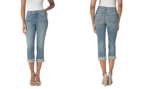 NYDJ Petites Marilyn Cropped Cuffed Jeans in Pacific - Bloomingdale's_2