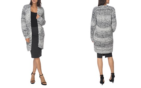 B Collection by Bobeau Mélange Knit Open Cardignan - Bloomingdale's_2