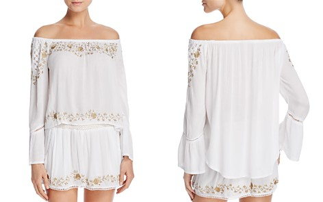 Muche et Muchette Cleopatra Embroidered Top - Bloomingdale's_2