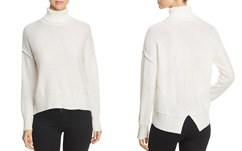 H. ONE Split Back Turtleneck Sweater - Bloomingdale's_2