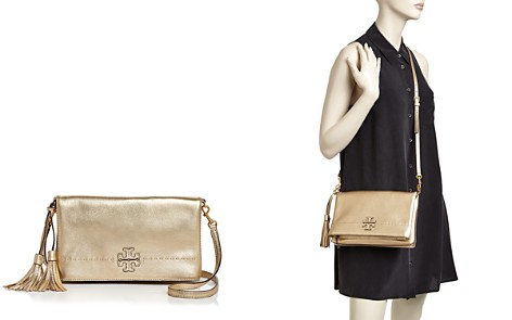 Tory Burch Mcgraw Metallic Fold-Over Crossbody - Bloomingdale's_2