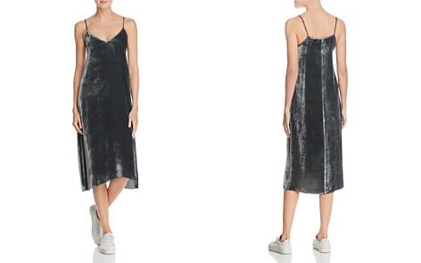 ATM Anthony Thomas Melillo Velvet Slip Dress - Bloomingdale's_2