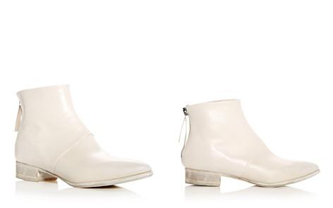 Alberto Fermani Women's Bellina Leather Low Heel Booties - Bloomingdale's_2