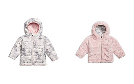The North Face® Girls' Reversible Printed & Fleece-Faux-Fur Jacket - Baby - Bloomingdale's_2
