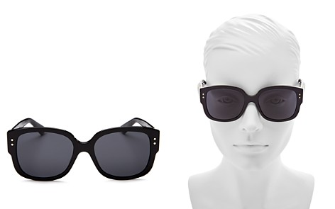 Dior Lady Dior Studs Embellished Square Sunglasses, 54mm - Bloomingdale's_2