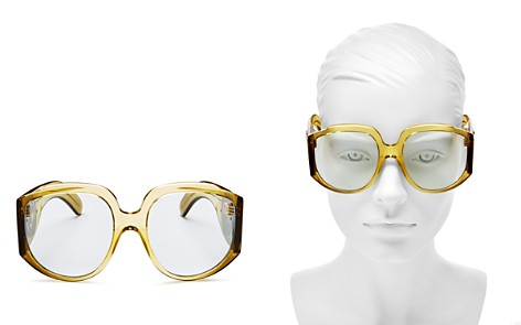 Gucci Oversized Square Sunglasses, 61mm - Bloomingdale's_2