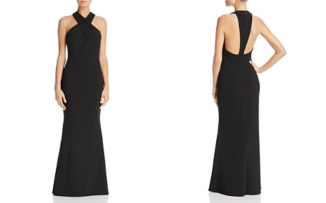 JS Collections Cross-Front Gown - Bloomingdale's_2