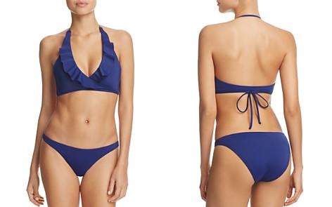 MILLY Ruffled Wrap Bikini Top & St. Lucia Bikini Bottom - Bloomingdale's_2