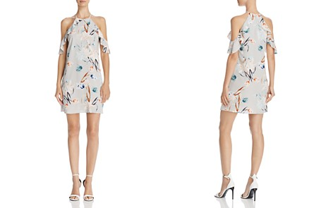 Cooper & Ella Saga Floral Cold-Shoulder Dress - Bloomingdale's_2