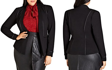 City Chic Piping Praise Jacket - Bloomingdale's_2