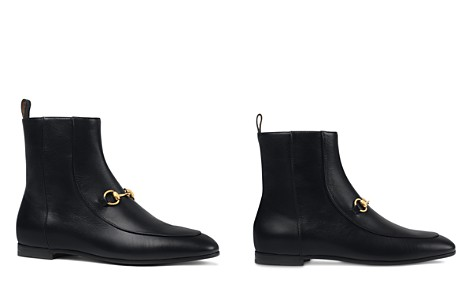 Gucci Women's New Jordaan Leather Chelsea Booties - Bloomingdale's_2