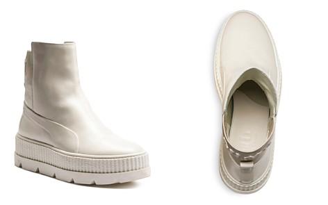 FENTY Puma x Rihanna Women's Leather Chelsea Sneaker Booties - Bloomingdale's_2