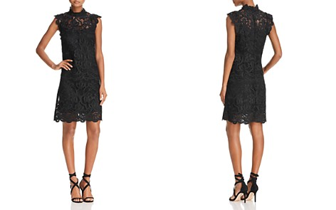 Laundry by Shelli Segal Mock-Neck Venice Dress - Bloomingdale's_2