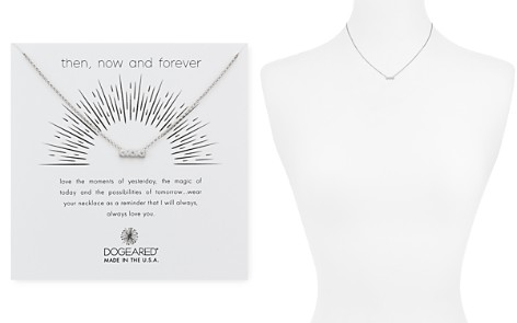 "Dogeared Then Now Forever Pendant Necklace, 16"" - Bloomingdale's_2"