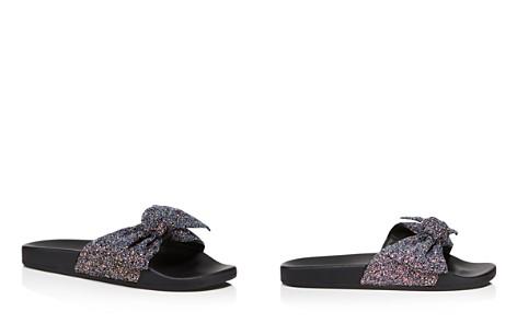 kate spade new york Women's Shellie Glitter Pool Slide Sandals - Bloomingdale's_2