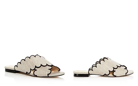 Isa Tapia Women's Nueva Linen Slide Sandals - Bloomingdale's_2