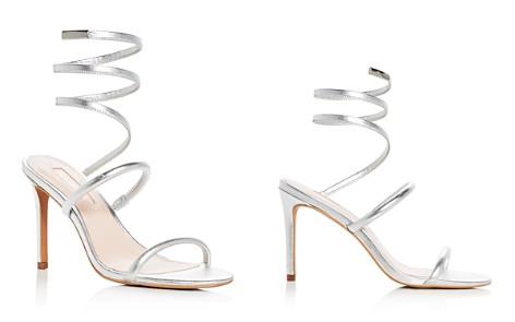 Avec Les Filles Women's Joia Leather Ankle Wrap High Heel Sandals - Bloomingdale's_2