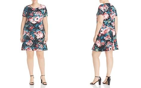 Love Ady Plus Flutter-Hem Floral-Print Dress - Bloomingdale's_2