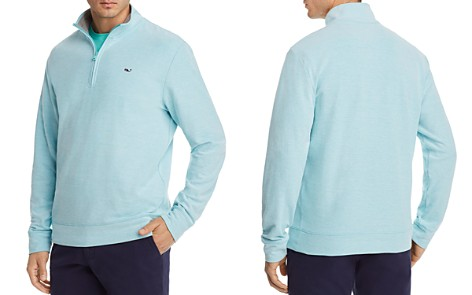 Vineyard Vines Reverse Oxford Piqué Quarter-Zip Pullover - Bloomingdale's_2