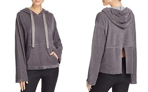 Bella Dahl Textured-Stripe Split-Back Hoodie - Bloomingdale's_2