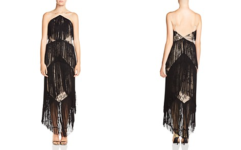 Haute Hippie Elixir of Life Tiered-Fringe Lace Dress - Bloomingdale's_2