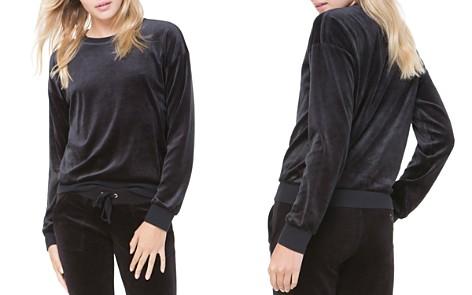 Juicy Couture Black Label Track Velour Sweatshirt - Bloomingdale's_2