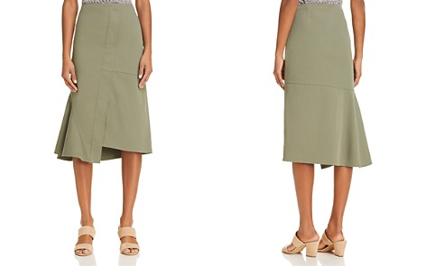 Theory Reconstructed Midi Skirt - Bloomingdale's_2