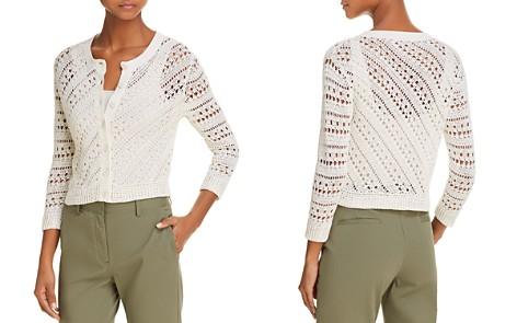 Theory Tamvi C Crochet Cardigan - Bloomingdale's_2