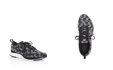Nike Boys' Dualtone Racer SE Knit Lace Up Sneakers - Big Kid - Bloomingdale's_2