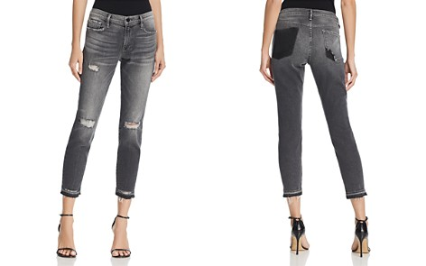 FRAME Le Garcon Released Hem Jeans in Stockcross - Bloomingdale's_2