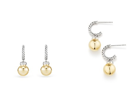 David Yurman Solari Drop Earrings with Diamonds & 18K Gold - Bloomingdale's_2