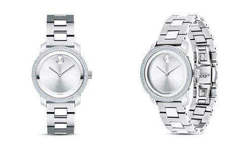 Movado Heritage Diamond Watch, 30mm - Bloomingdale's_2
