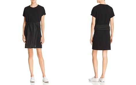 T by Alexander Wang Tie-Waist T-Shirt Dress - Bloomingdale's_2