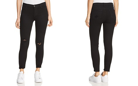 J Brand 835 Mid Rise Capri Jeans in Overexposure - Bloomingdale's_2