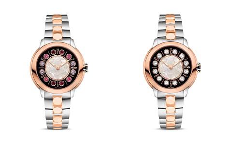 Fendi IShine Rotating Gemstones Two-Tone Watch, 38mm - Bloomingdale's_2