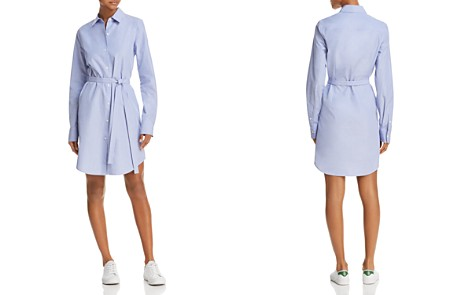 Theory Belted Shirt Dress - Bloomingdale's_2