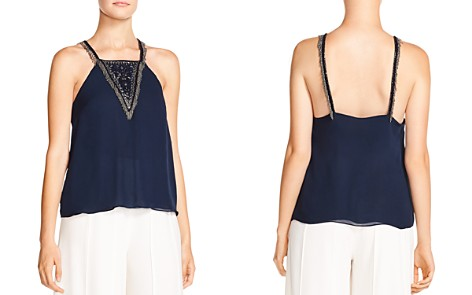 Haute Hippie Through The Looking Glass Embellished Silk Top - Bloomingdale's_2
