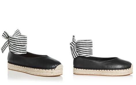 Avec Les Filles Women's Georgie Leather Ankle Tie Platform Espadrille Flats - Bloomingdale's_2